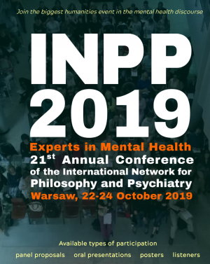 21st Annual Conference of the International Network for Philosophy and Psychiatry
