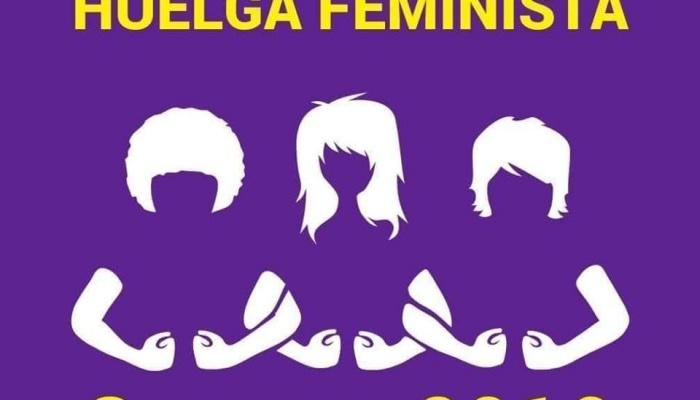 Recolzament a la vaga feminista del 8 de març